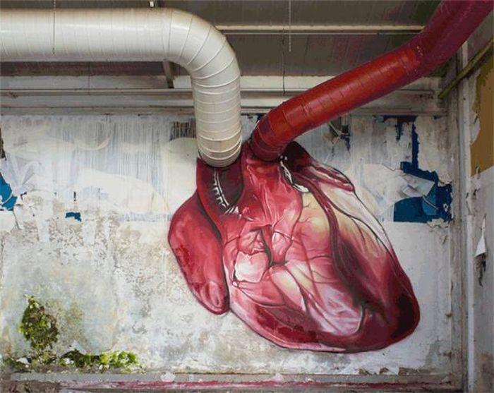أعمال رائعة لفنانين الشوارع (22 صورة)