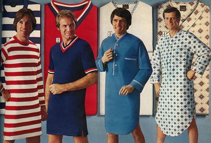 أزياء الرجال في 1970s