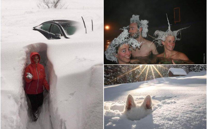 صور مضحكة من البلدان الشمالية والباردة
