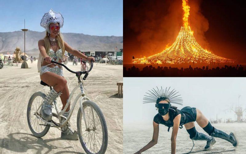 مهرجان الرجل المحترق