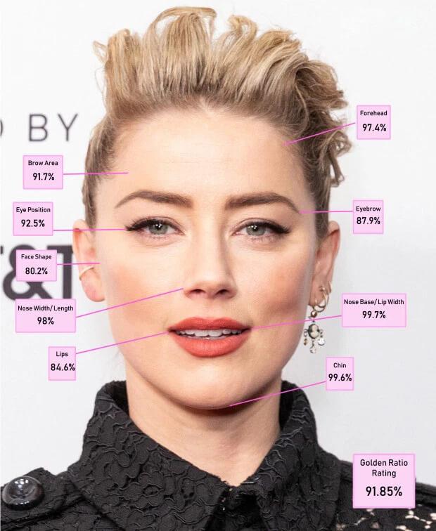 احتل العنبر هيرد المرتبة الثالثة بالمقارنة مع نسبة الجمال