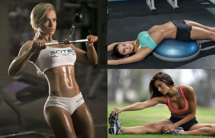صور الفتيات الجميلات اللاتي يمارسن الرياضة. العدد 3 (43 صورة)