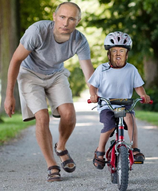دونالد ترامب - صور مضحكة فوتوشوب